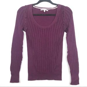 Victoria's Secret Plum Thermal Long Sleeve Sz XS